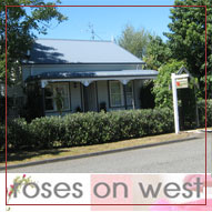 Roses on West accommodation Greytown